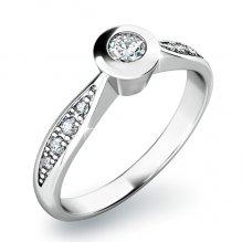 Zásnubní prsten se zirkony ZP-10811