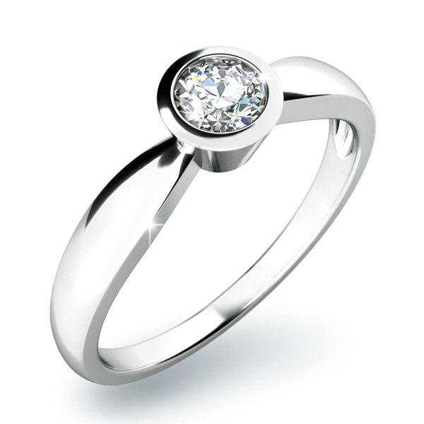 Zásnubní prsten se zirkonem ZP-10810