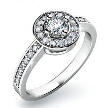 Zásnubní prsten se zirkony ZP-10802