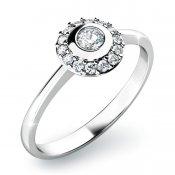 Zásnubní prsten se zirkony ZP-10799