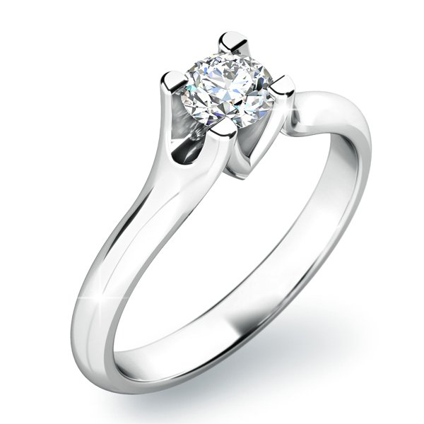 Zásnubní prsten se zirkonem ZP-10805