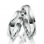 Ocelové snubní prsteny SP-ES-16