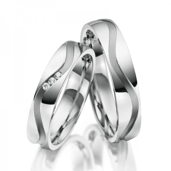 SP-ES-16 Ocelové snubní prsteny SP-ES-16