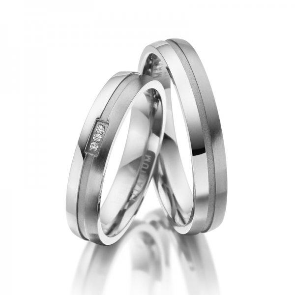 Titanové snubní prsteny SP-TI-021