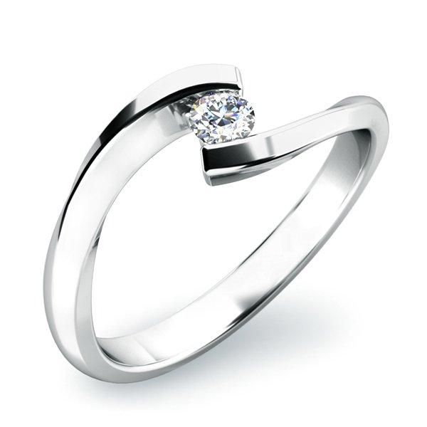 Zásnubní prsten se zirkonem ZP-10818