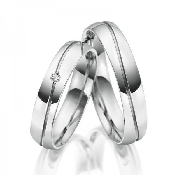 SP-ES-17 Ocelové snubní prsteny SP-ES-17