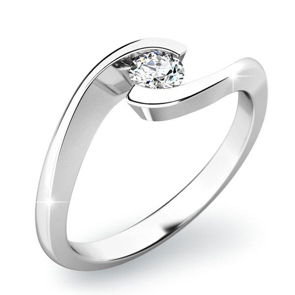 Zásnubní prsten se zirkonem ZP-10842