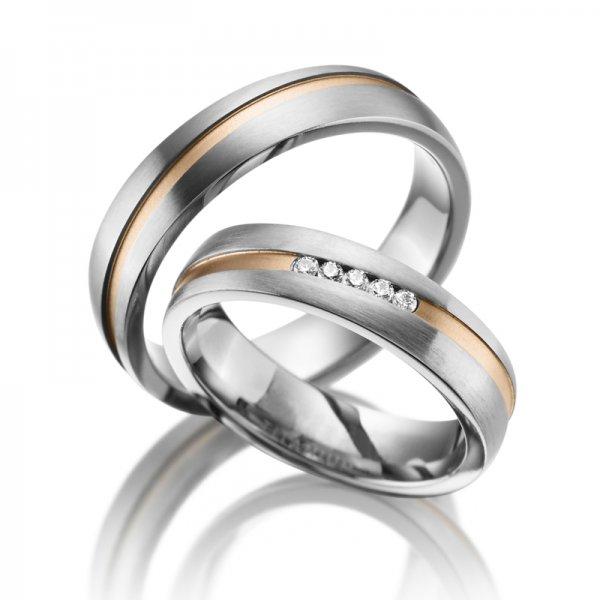 SP-TI-18 Titanové snubní prsteny SP-TI-18
