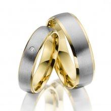 Ocelové snubní prsteny SP-ES-014