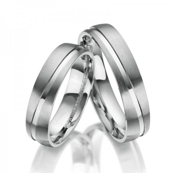 Ocelové snubní prsteny SP-ES-20