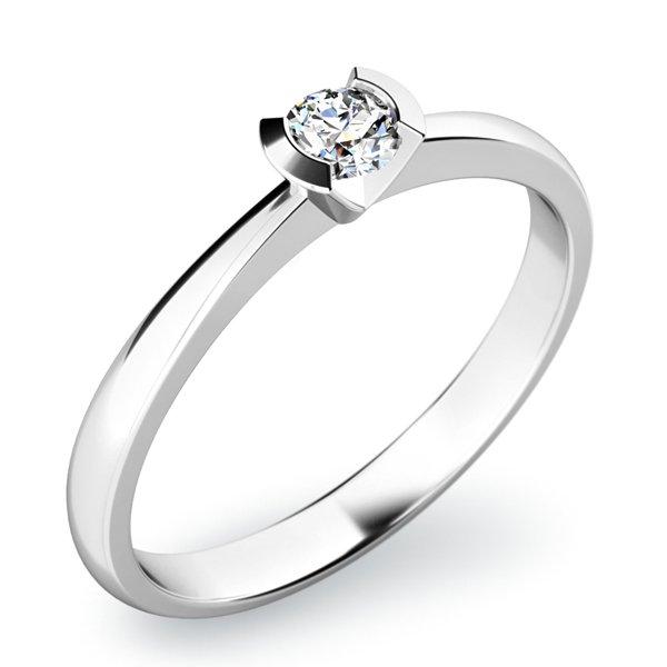 Zásnubní prsten se zirkonem ZP-10840