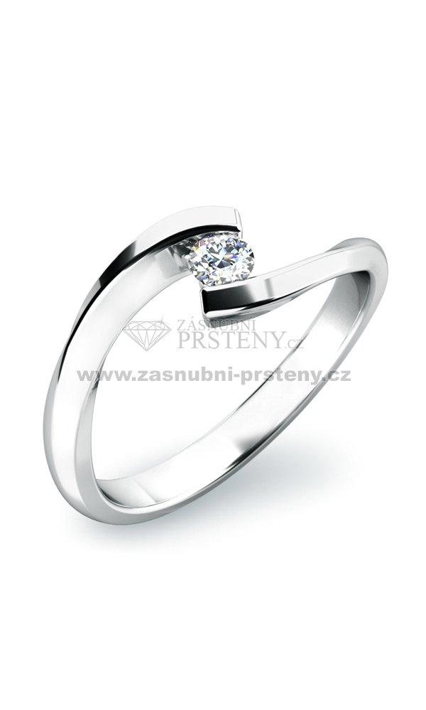 Zasnubni Prsten S Diamantem Zp 10818d Zasnubni Prsteny Cz