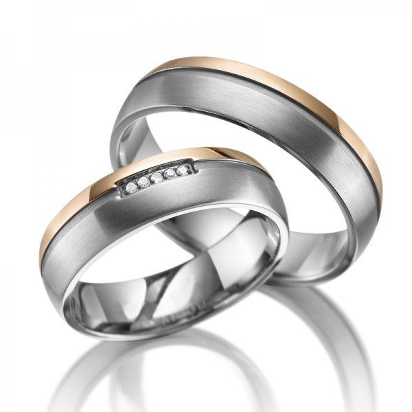 Titanové snubní prsteny SP-TI-016
