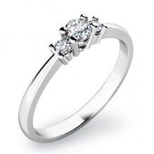 Zásnubní prsten se zirkony ZP-10843