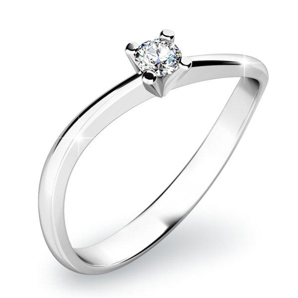 Zásnubní prsten se zirkonem ZP-10841