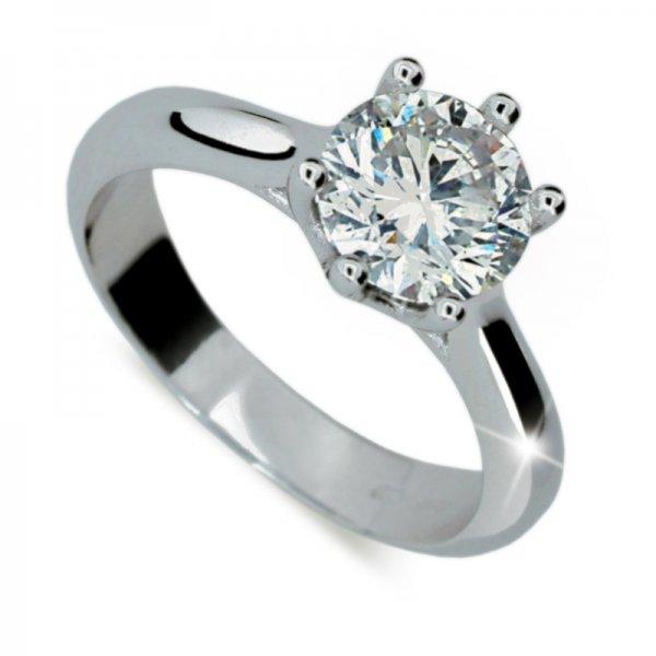 Zásnubní prsten s diamantem 1885