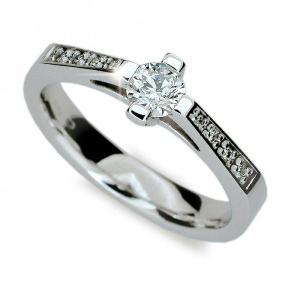 Zásnubní prsten s diamanty ZP1962