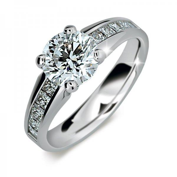 Zásnubní prsten s diamanty ZP2088