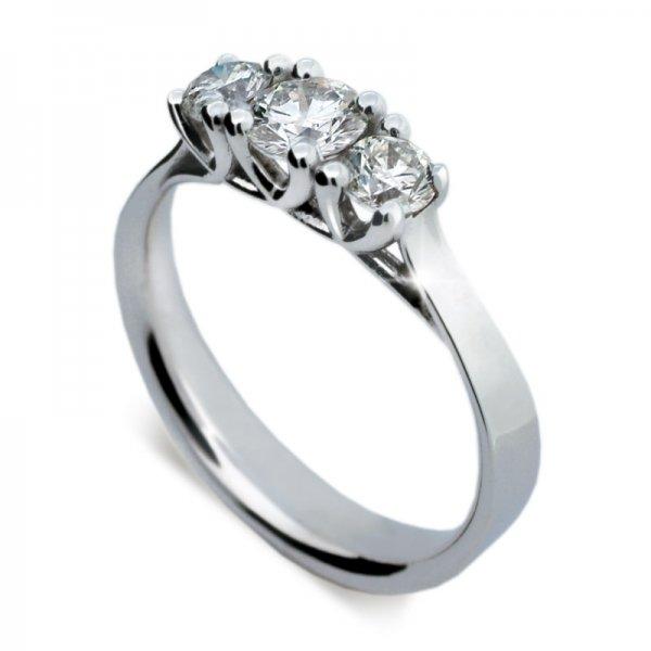 Zásnubní prsten s diamantem ZP1924