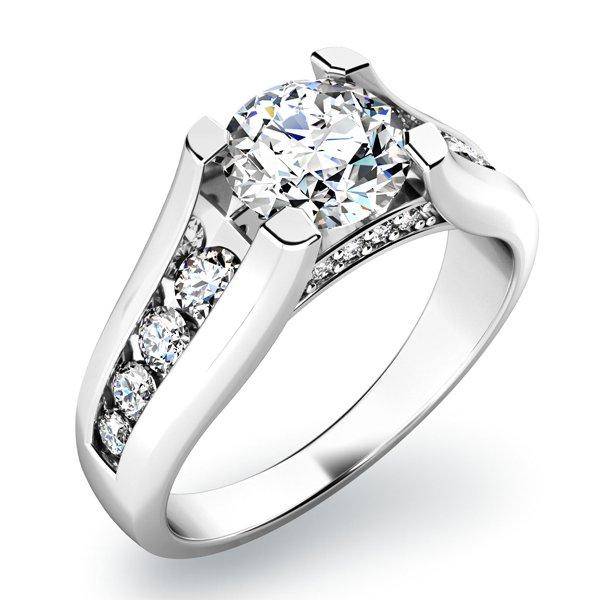 Zásnubní prsten se zirkony ZP-10817