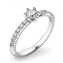 Zásnubní prsten s diamanty ZP-10896