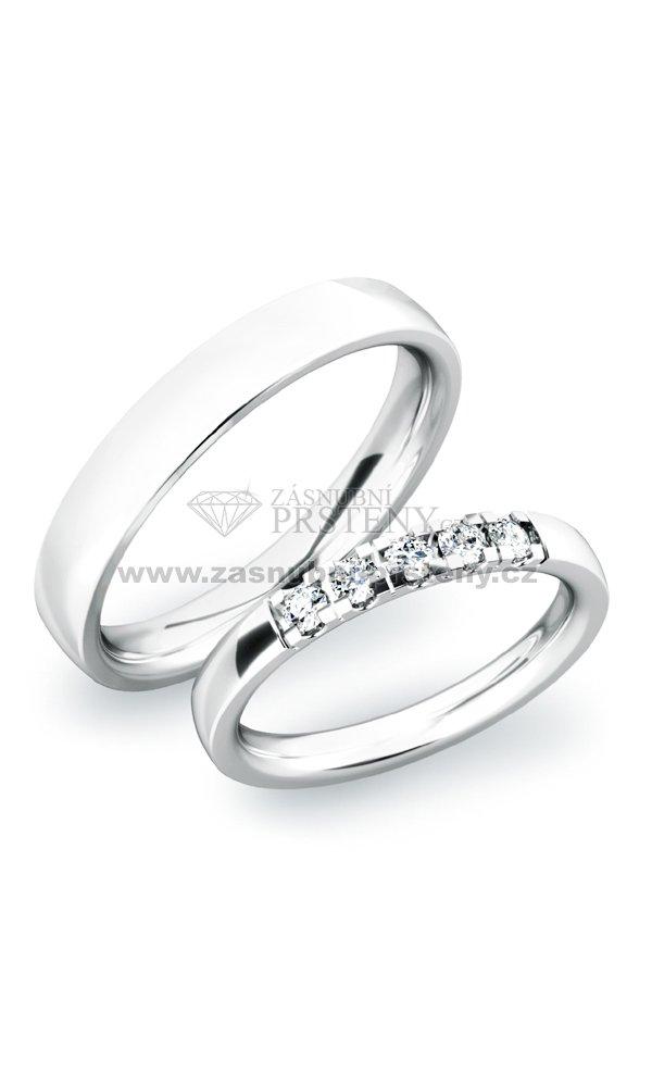 Snubni Prsteny Ze Stribra Sp 61030 Ag Zasnubni Prsteny Cz