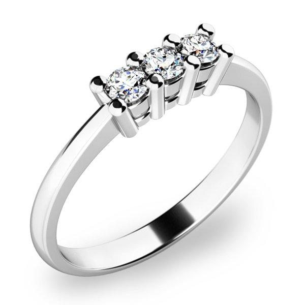 Zásnubní prsten se zirkony ZP-10848