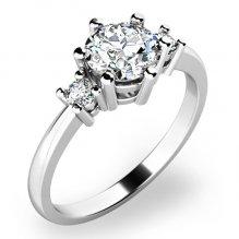 Zásnubní prsten se zirkony ZP-10856