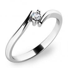 Zásnubní prsten se zirkonem ZP-10846