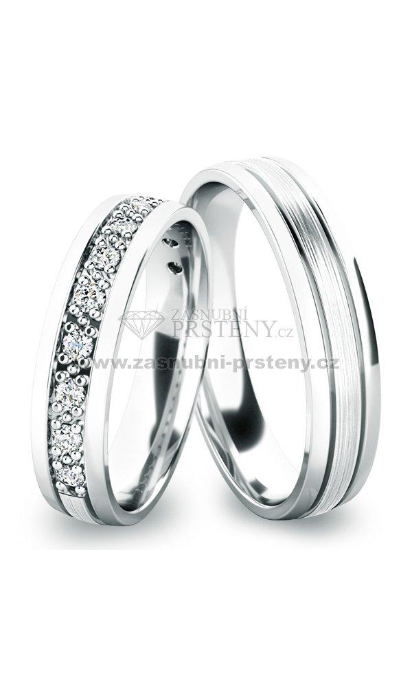 Stribrne Snubni Prsteny Sp 61052 Ag Zasnubni Prsteny Cz