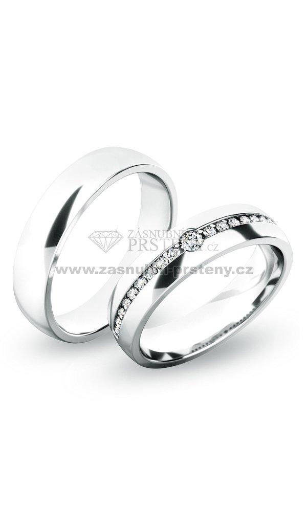Snubni Prsteny Stribro Sp 61054 Ag Zasnubni Prsteny Cz