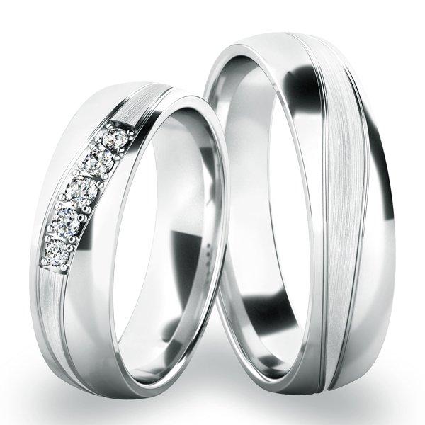 Zlaté snubní prsteny SP-285