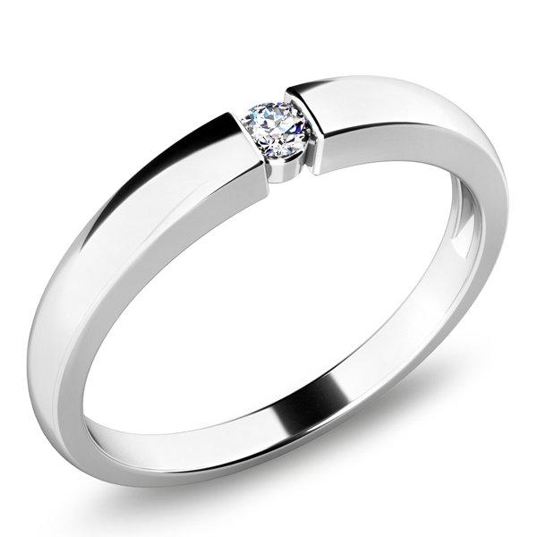 Zásnubní prsten s diamantem ZP-10935D