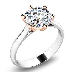 Zásnubní prsten se zirkonem ZP-10938