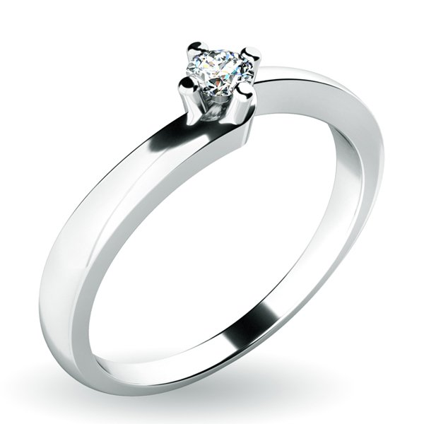 Zásnubní prsten se zirkonem ZP-10941