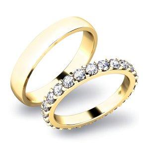 Snubní prsteny zlaté SP-61029Z