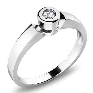 Zásnubní prsten se zirkonem ZP-10934