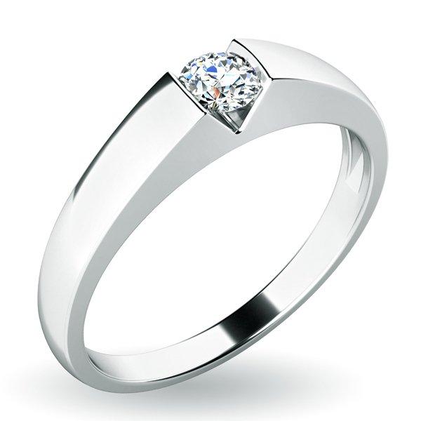 Zásnubní prsten s diamantem ZP-10933D