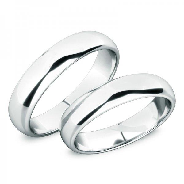 Snubní prsteny z bílého zlata SP-61100-03-B