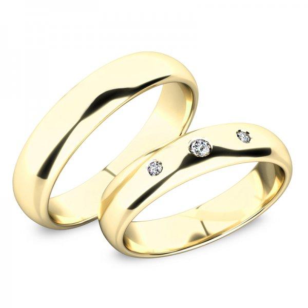 Snubní prsteny se zirkony SP-61100-03-03-Z