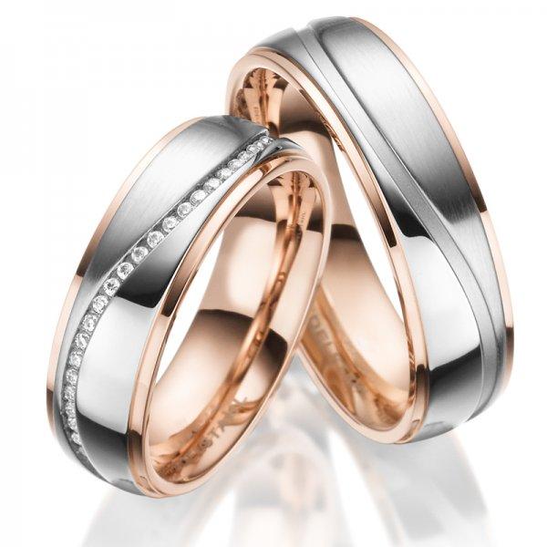 Ocelové snubní prsteny SP-ES-023