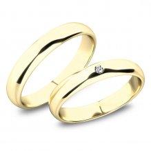 Snubní prsteny ze zlata SP-61100-02-01-Z