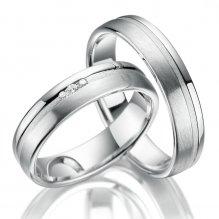 Stříbrné snubní prsteny SP-SI-018