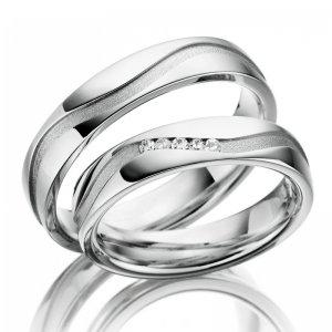 Stříbrné snubní prsteny SP-SI-020
