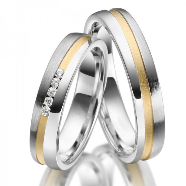 Stříbrné snubní prsteny SP-SI-023