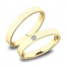 Snubní prsteny ze zlata SP-61085Z
