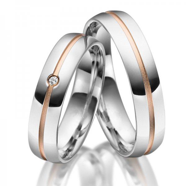 Stříbrné snubní prsteny SP-SI-026