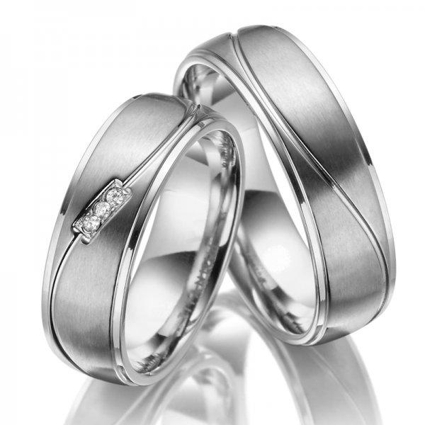 Titanové snubní prsteny SP-TI-037