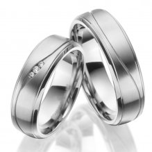 Titanové snubní prsteny SP-TI-049