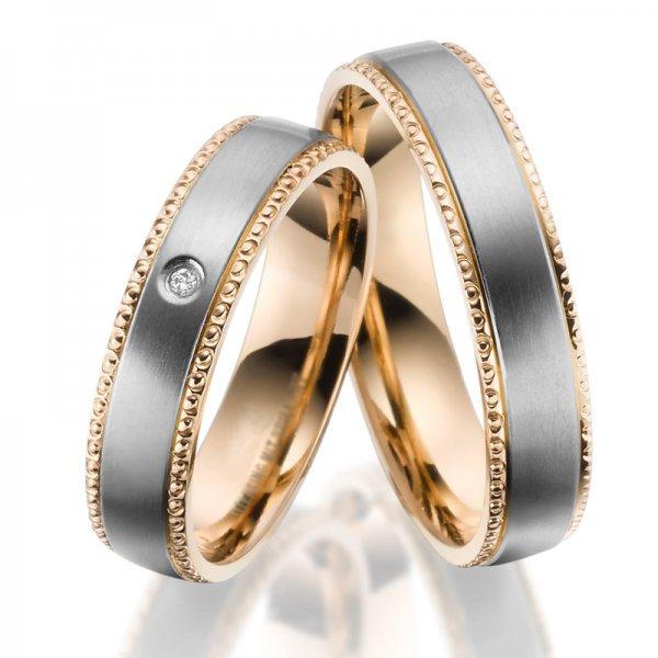 Titanové snubní prsteny SP-TI-042